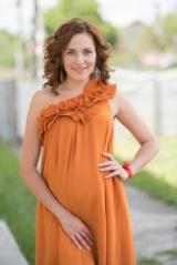 Актриса Наталья Денисенко впервые согласилась сняться с мужем и новорожденным сыном