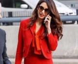Амаль Клуни вернулась к работе через три месяца после родов